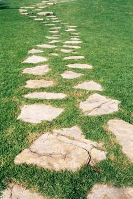 An image of a stone path.